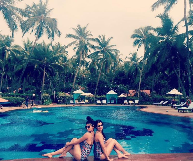 Mouni Roy Shows Off her Beach Body in Goa