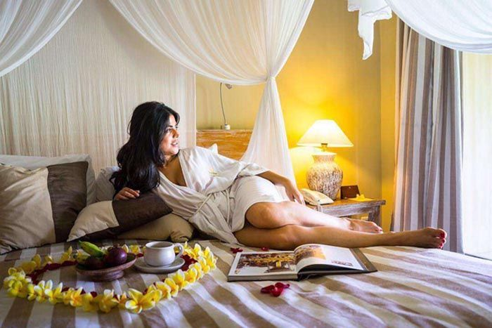 Shenaz Treasurywala Honeymoon Pics Leaked