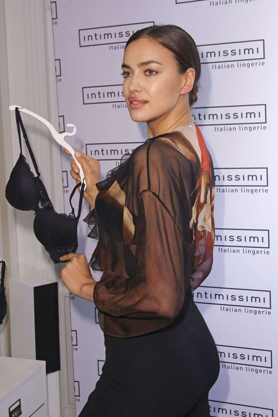 Irina Shayk - Promoted 'The Perfect Bra Book' in Munich