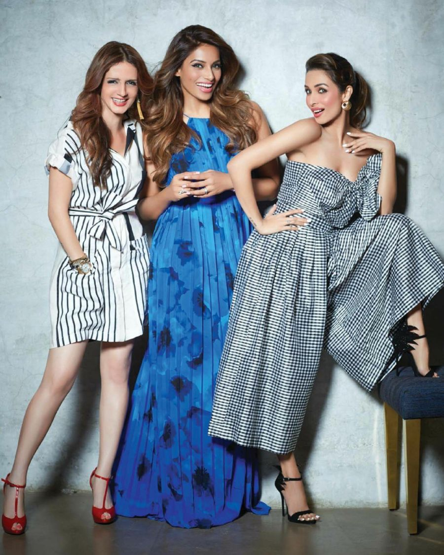 Successful Wives Bipasha, Malaika and Sussanne From Femina