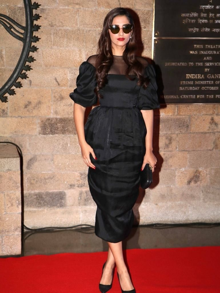 Sonam Kapoor at special evening in honor of Ian McKellen