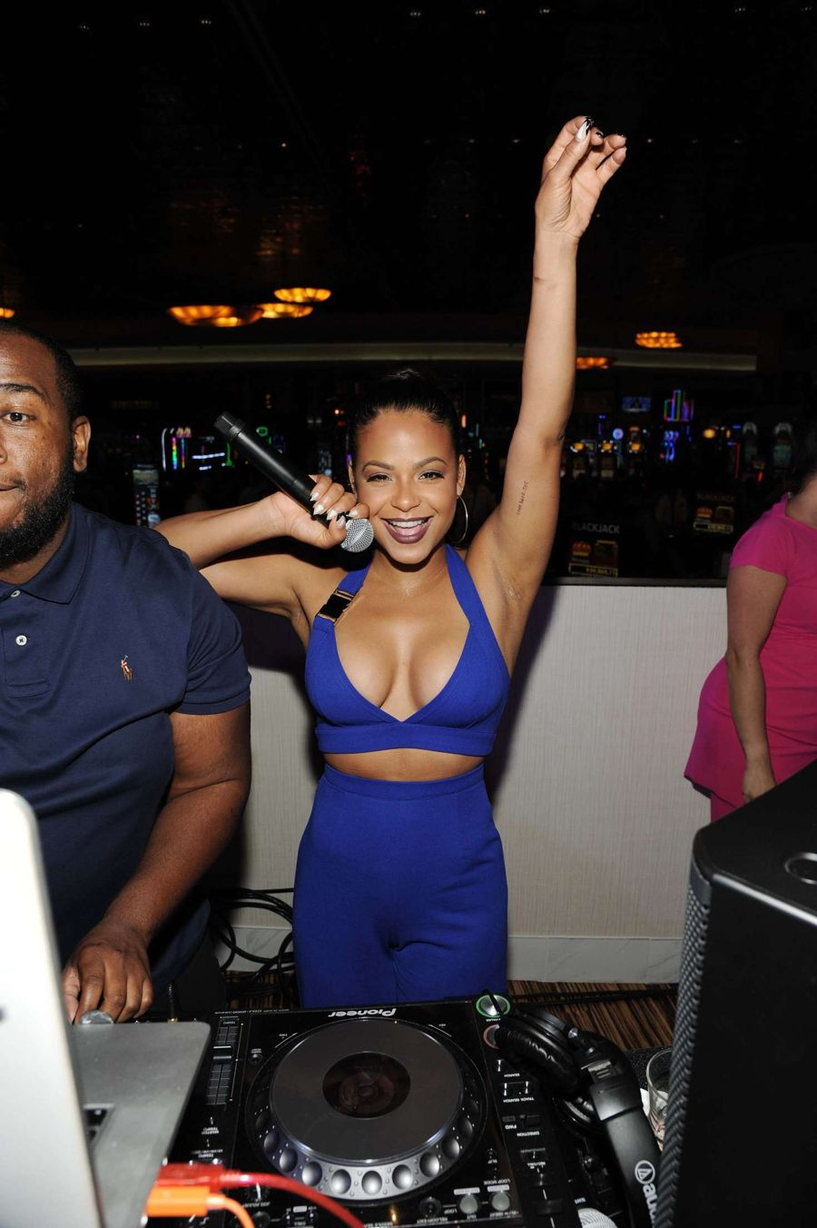 Christina Milian - Hosting Reality TV Month in Mashantucket