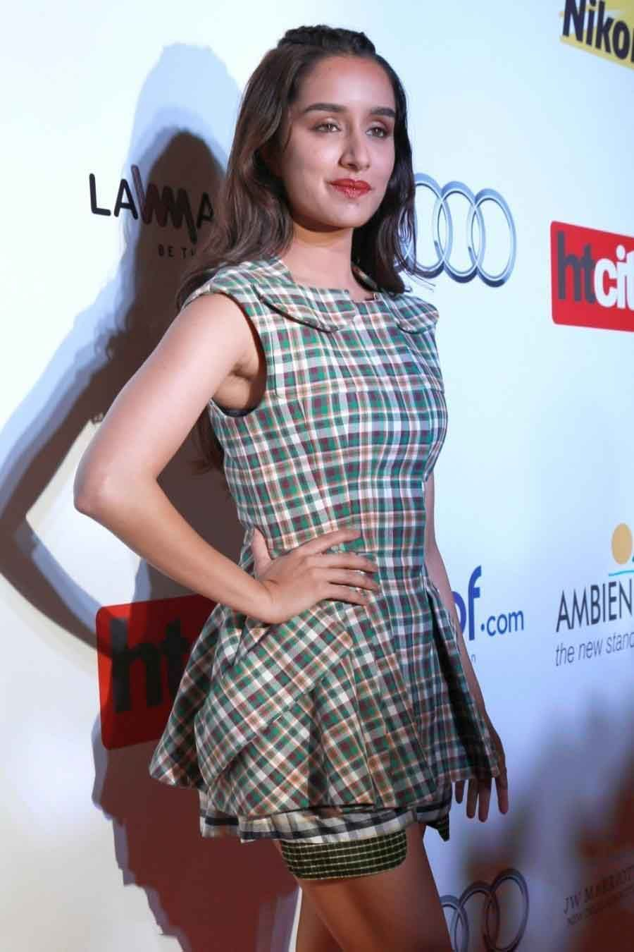 Shraddha Kapoor Looks Stunning In A Checkered Dior Dress