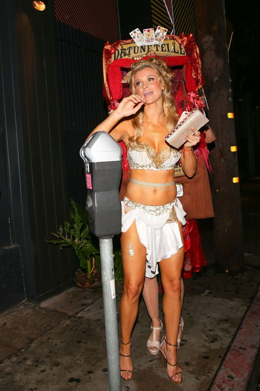 Joanna Krupa at Halloween Party in West Hollywood
