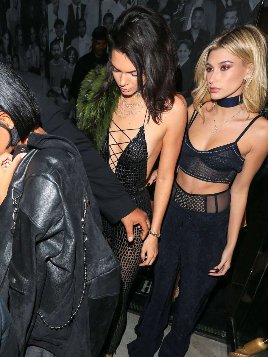 Hailey Baldwin - Kendall Jenner Birthday Party in LA