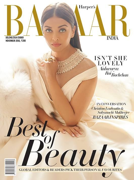 Aishwarya Rai Bachchan Looks Like a Dream in Harper's Bazaar