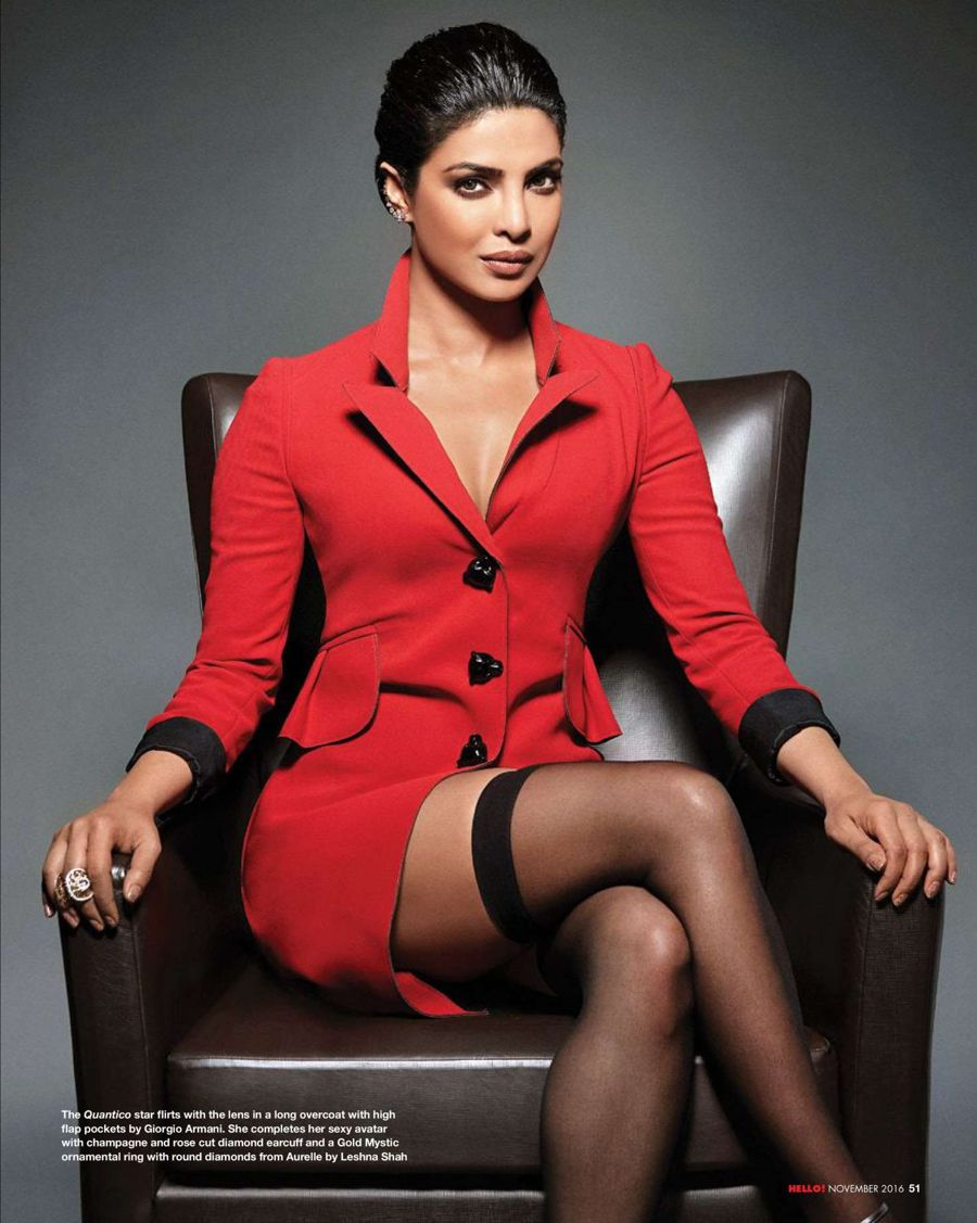 Priyanka Chopra Sizzles on Hello Magazine (Nov 2016)