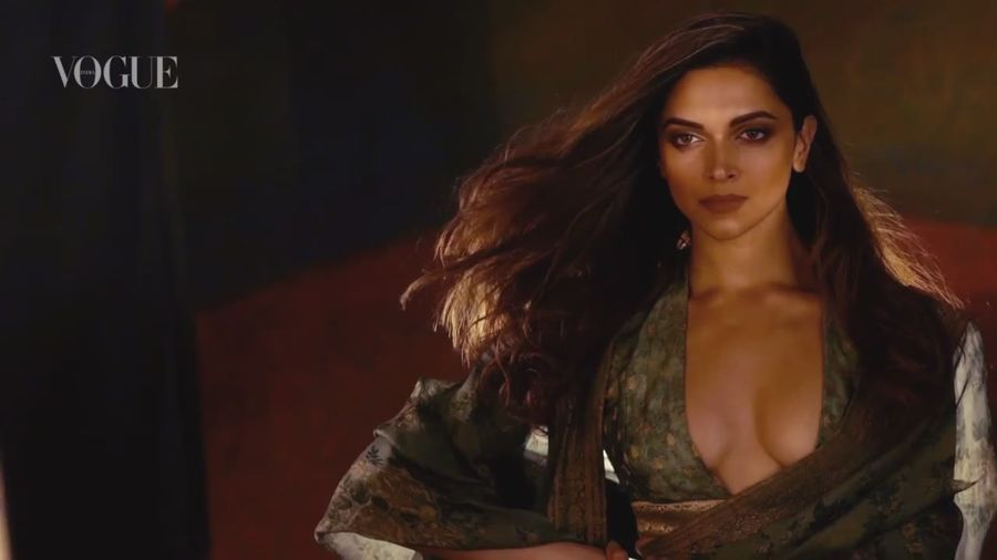 Deepika Padukone - Glamorous as ever in Vogue's (Nov 2016)