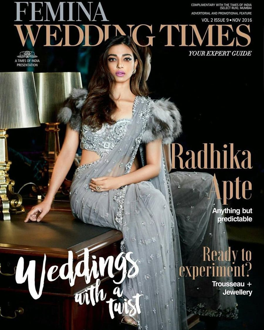 Radhika Apte Photos From Femina Wedding Times (Nov 2016)
