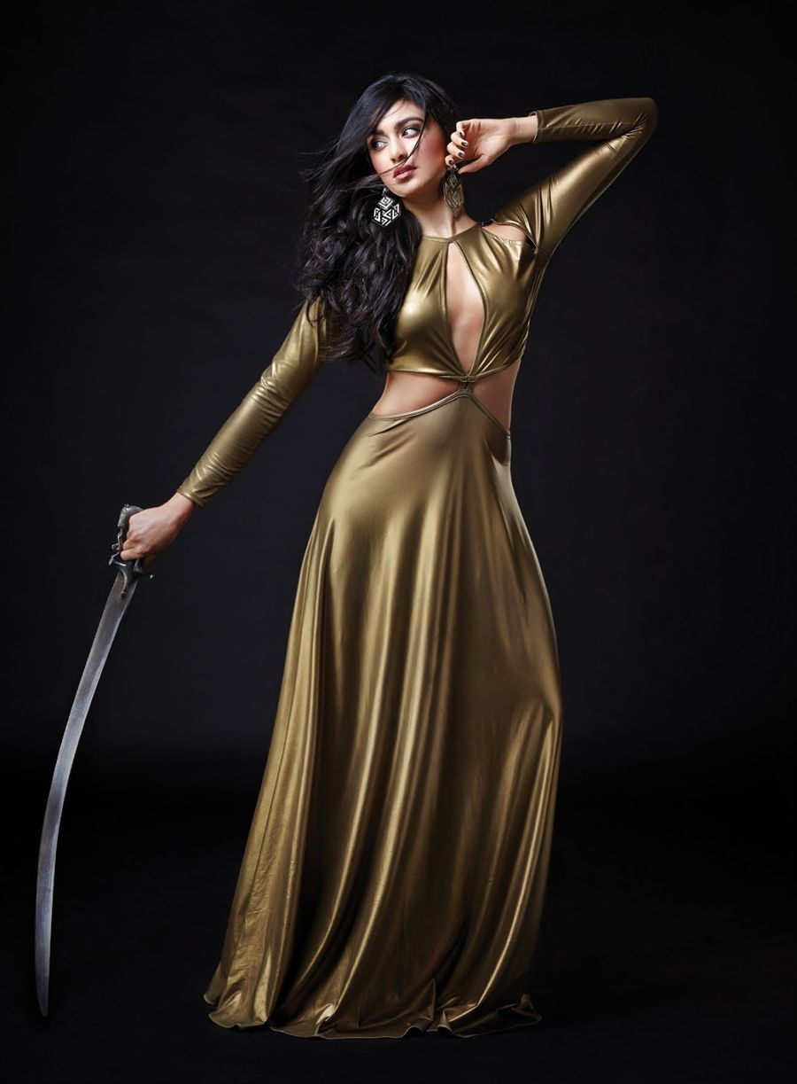 Adah Sharma looks Lethal in FHM Shoot