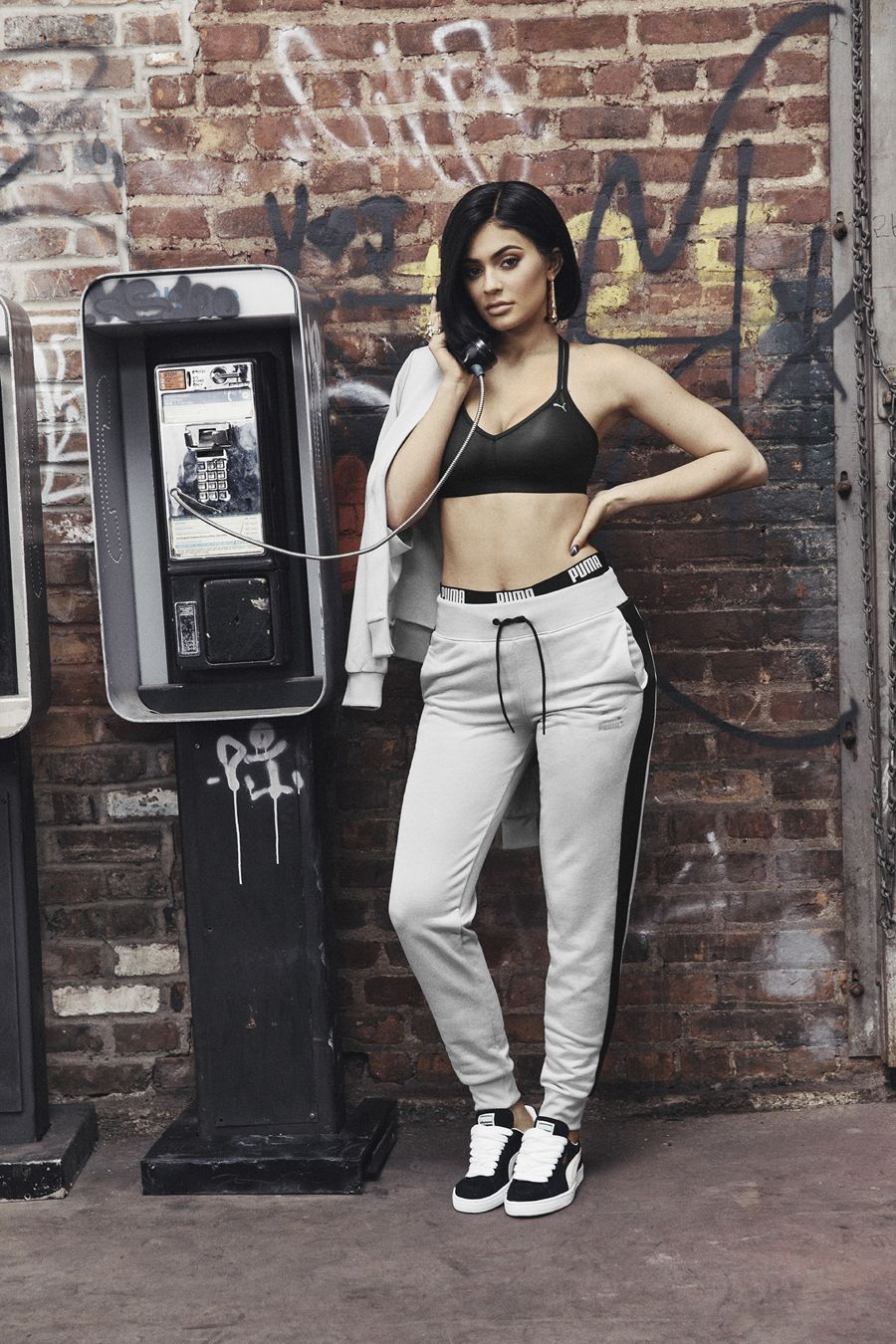 Kylie Jenner - PUMA Suede Sneakers 2016
