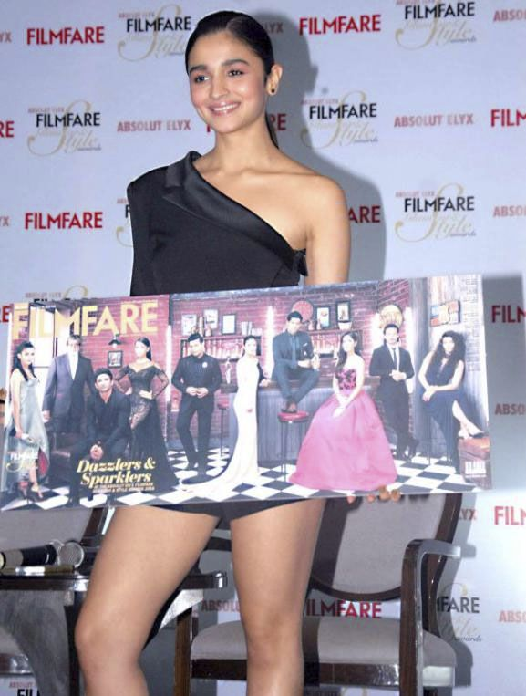 Alia Bhatt unveils the latest cover of Filmfare Magazine