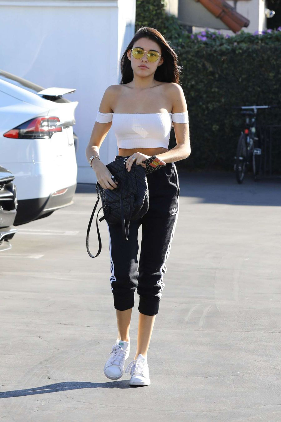 Madison Beer grabs lunch at Mauro's in Hollywood