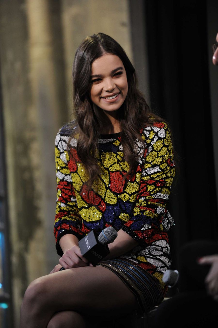 Hailee Steinfeld - AOL Build in NYC
