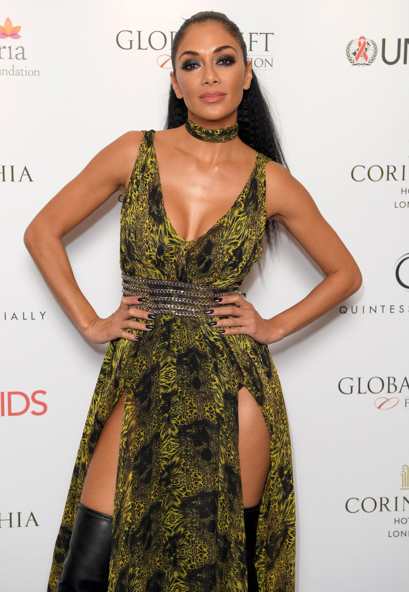 Nicole Scherzinger - The Global Gift Gala 2016 in London