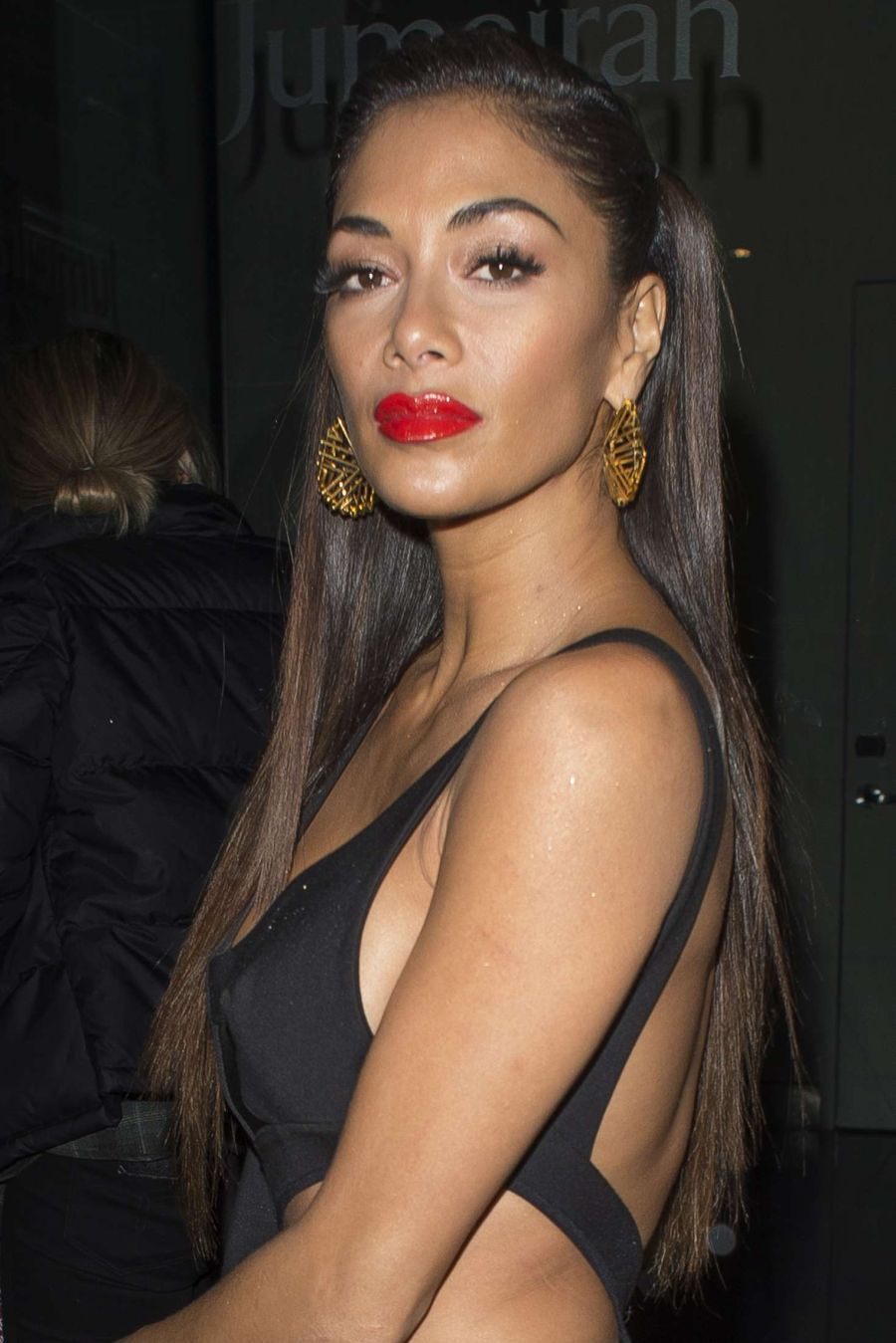 Nicole Scherzinger in Black out in London
