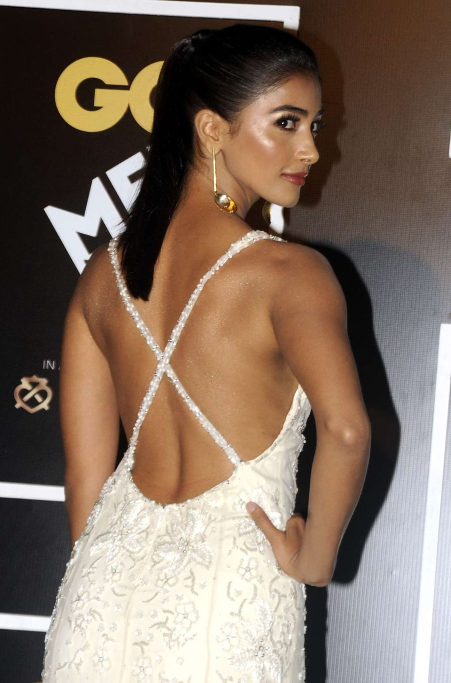 Pooja Hegde Gq India S Men Of The Year Awards 2016