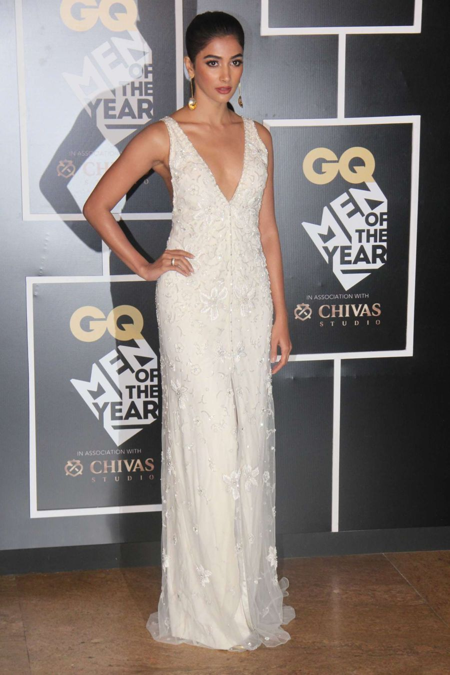 Pooja Hegde - GQ India's Men of the Year Awards 2016