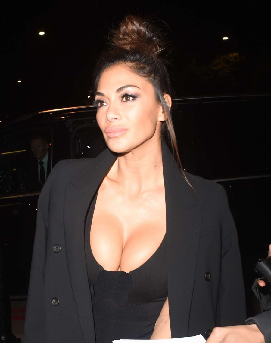 Nicole Scherzinger out and about in London