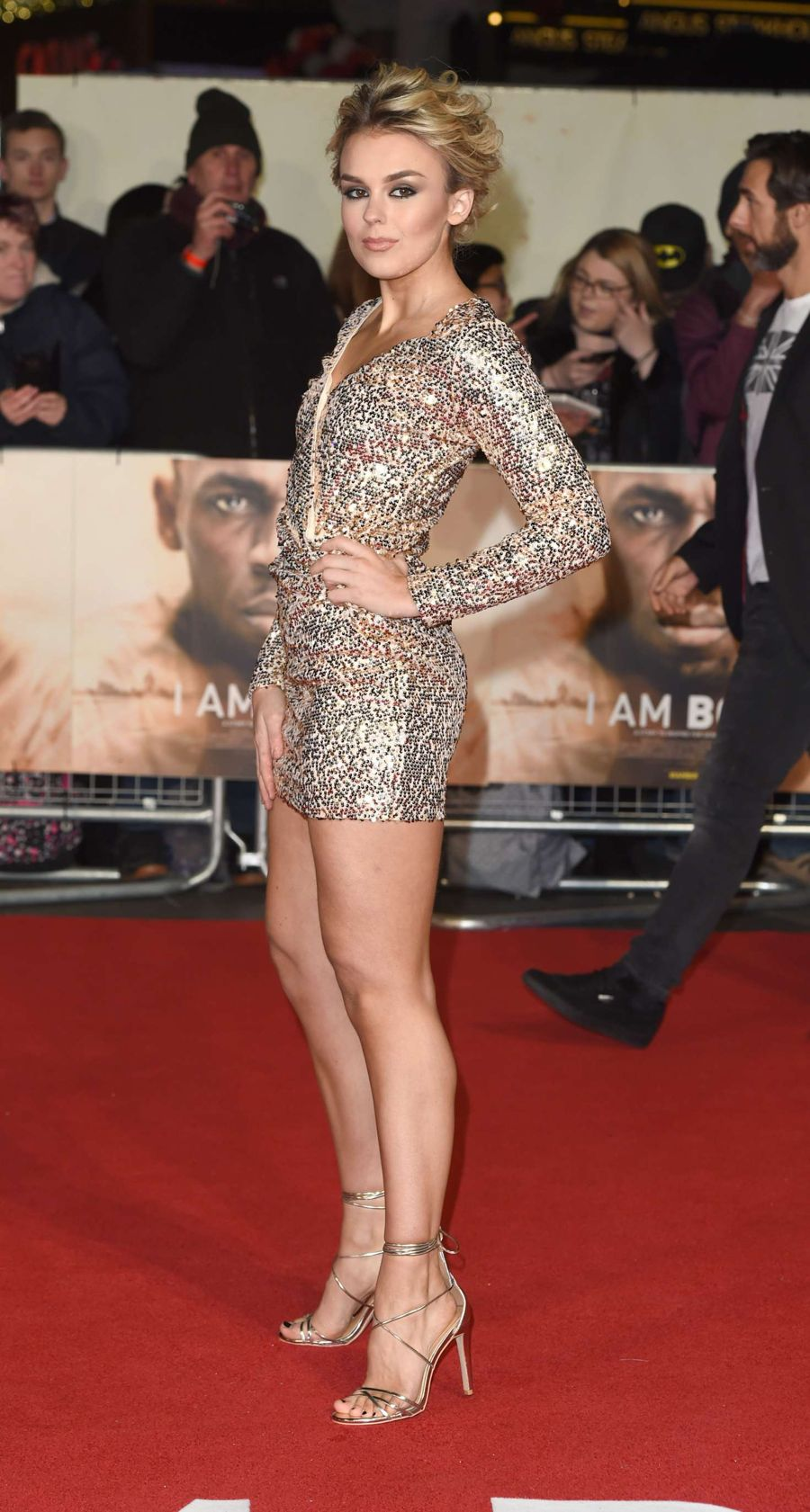 Tallia Storm - 'I Am Bolt' Premiere in London