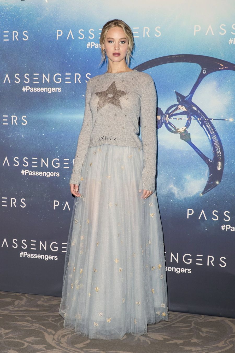 "Jennifer Lawrence - ""Passengers"" Photocall in Paris"