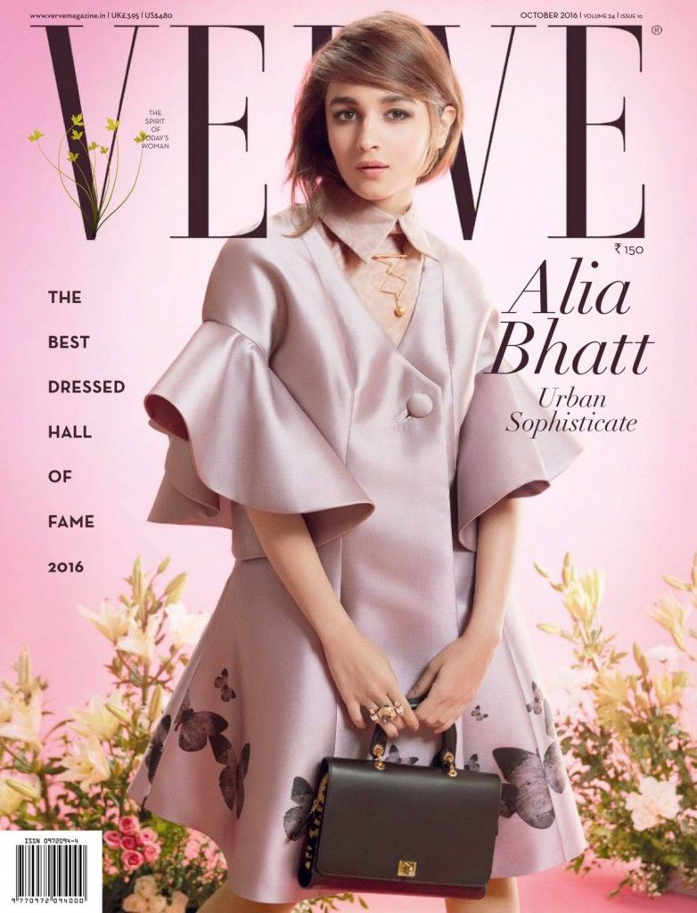 Alia Bhatt - Verve Magazine October 2016