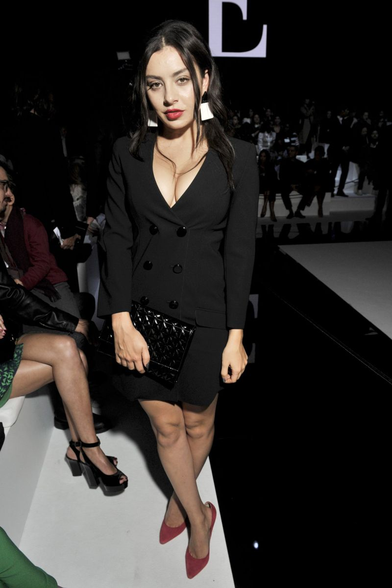 Charli XCX Emporio Armani Fashion Show in Paris
