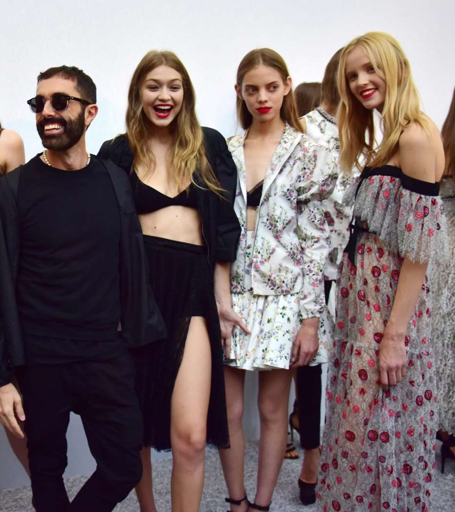 Gigi Hadid - Giambattista Valli Show in Paris