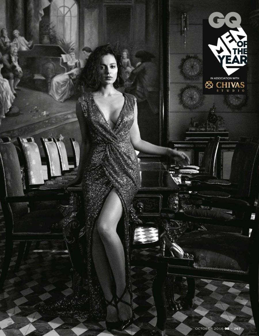 'Women of the Year' Kangana Ranaut GQ Shoot (Oct 2016)