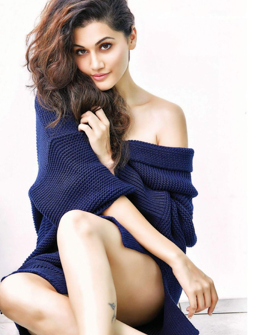 Taapsee Pannu Pose for CineBlitz Magazine (Oct 2016)