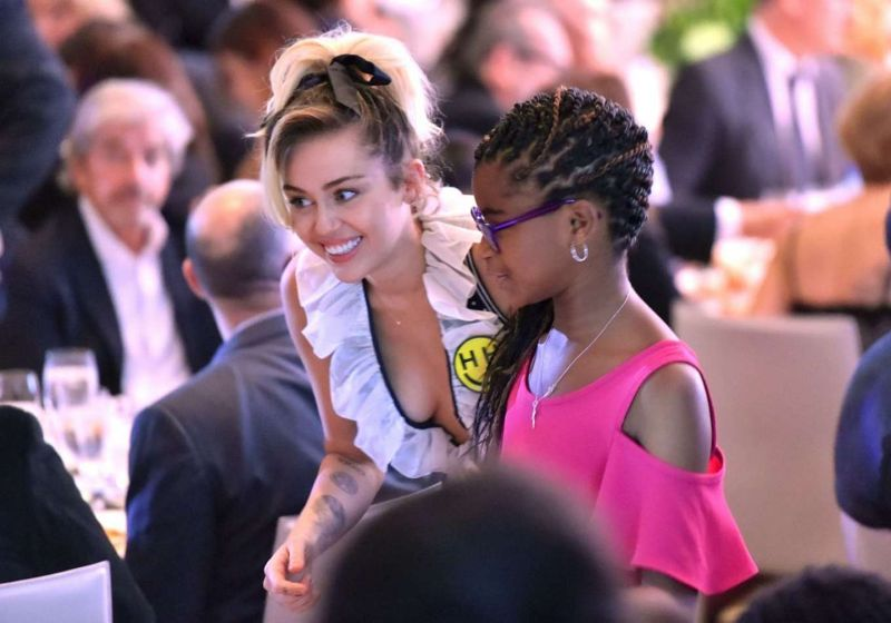 Miley Cyrus - Variety's Power of Women Sponsored by Audi