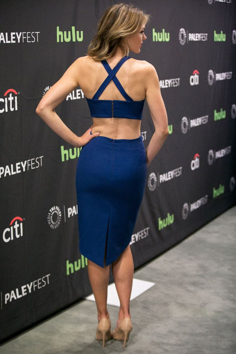 Aimee Teegarden Steps Out For PaleyFest Fall Previews Event