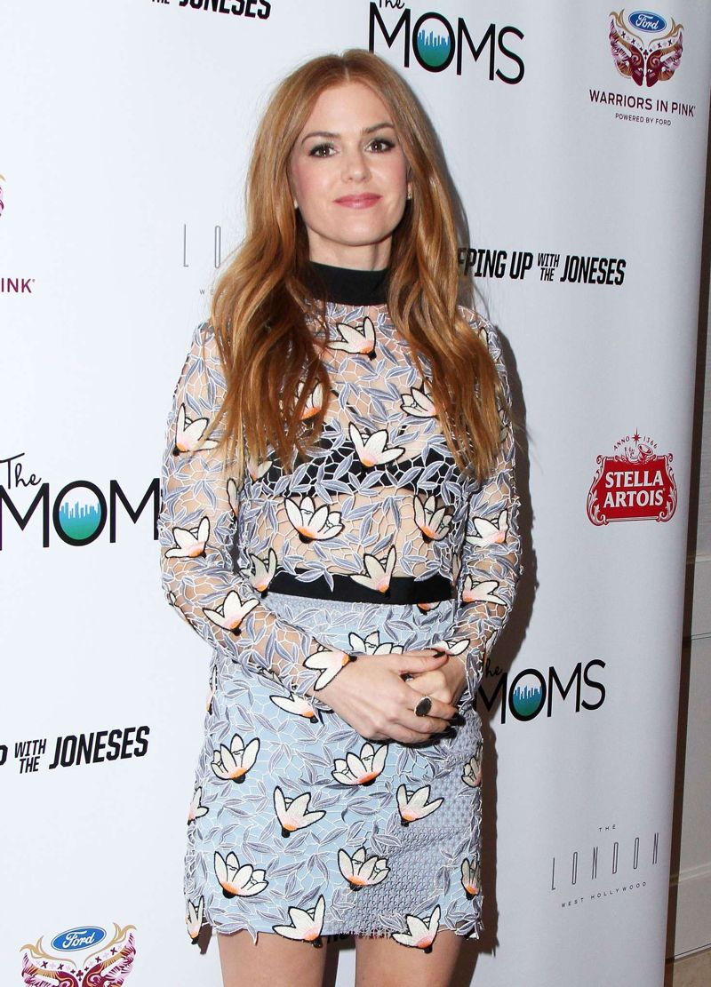 Isla Fisher Keeping Up With the Joneses LA Screening
