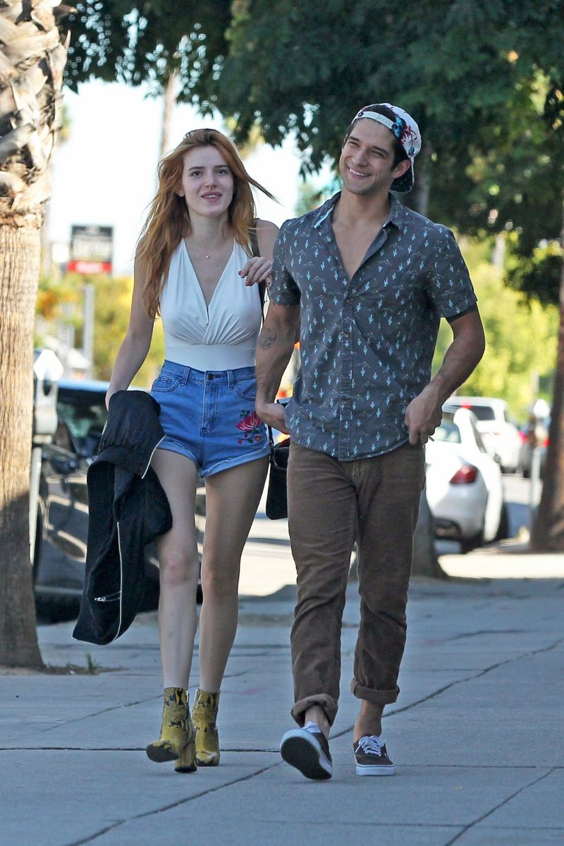 Bella Thorne spotted heading to Sweet Butter Kitchen