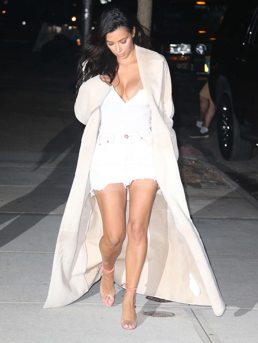 Kim Kardashian Feast During a Night Out in N.Y.C.