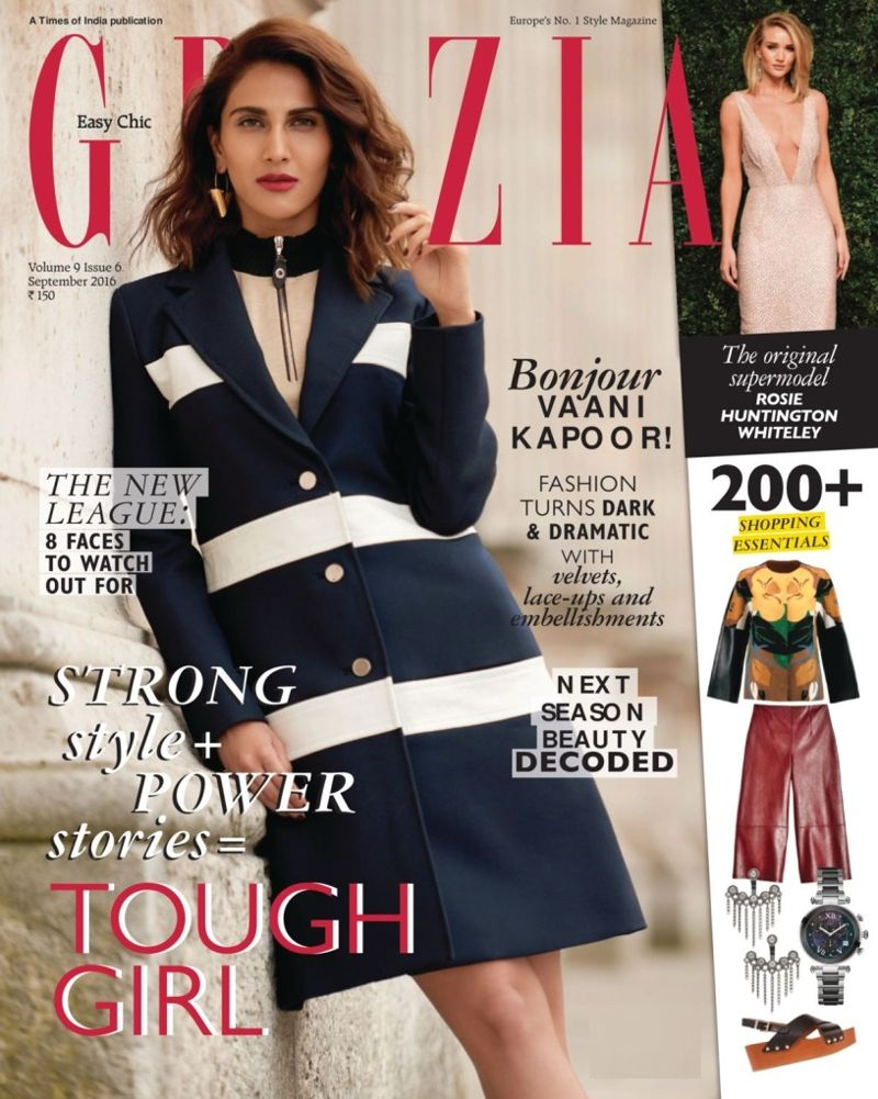 Vaani Kapoor Looks Classy On Grazia Magazine September 2016