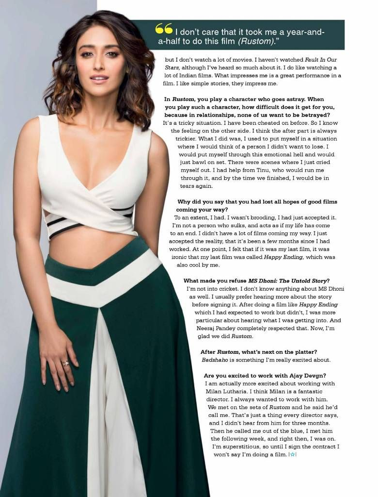 Glamour Girl: Ileana D'Cruz Poses for Stardust (Sep 2016)