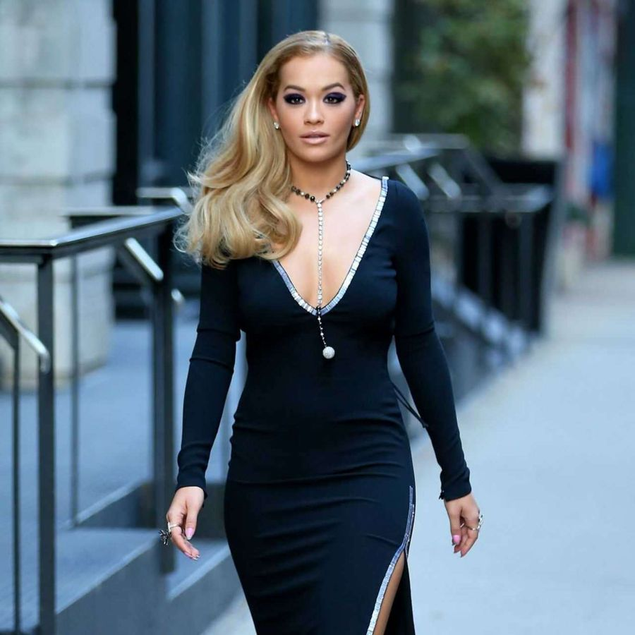 Rita Ora Filming 'America's Next Top Model' in New York