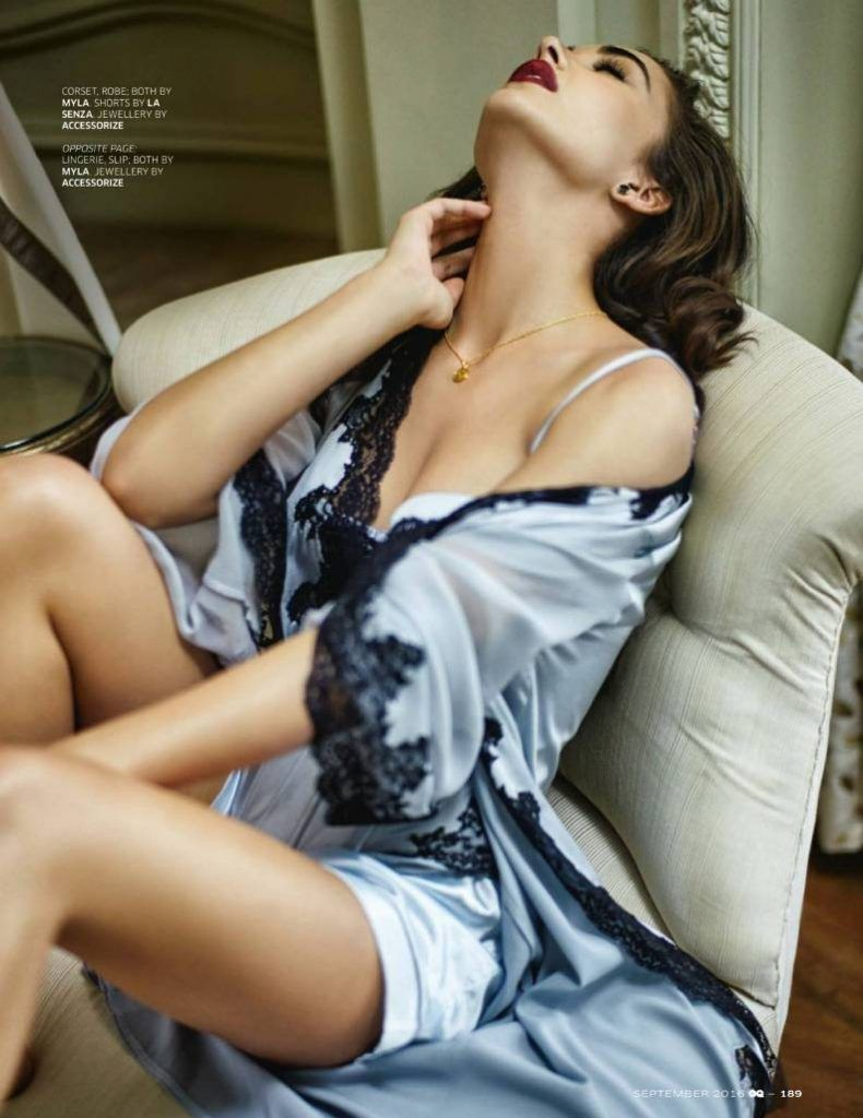 Amy Jackson Features on GQ Magazine  (Sep 2016)