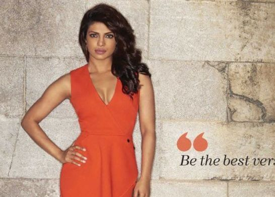 Priyanka Chopra is on the cover of The Man magazine