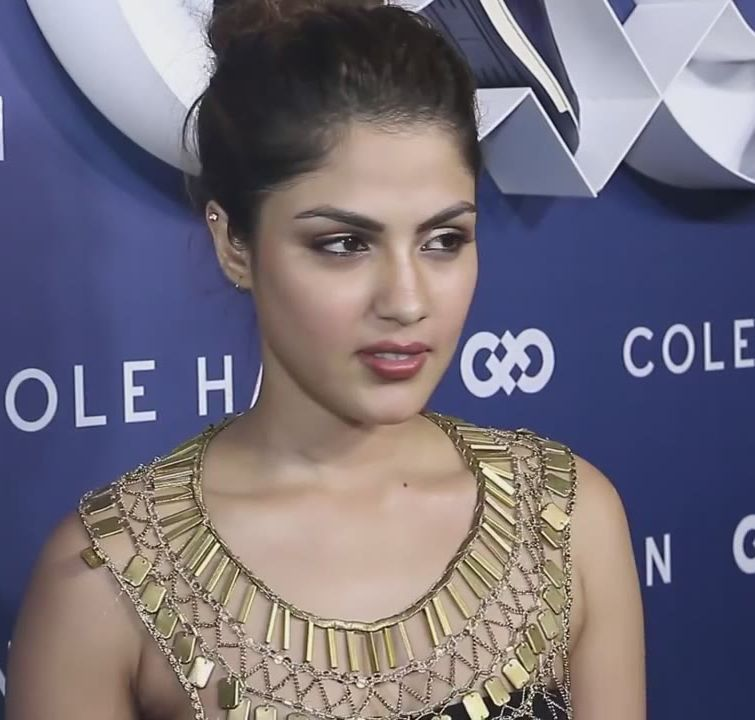 Rhea Chakraborty at the launch of Cole Haan