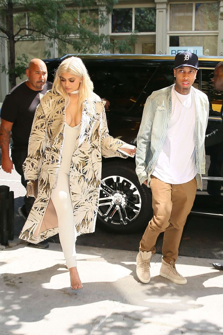Kylie Jenner and Tyga out in New York