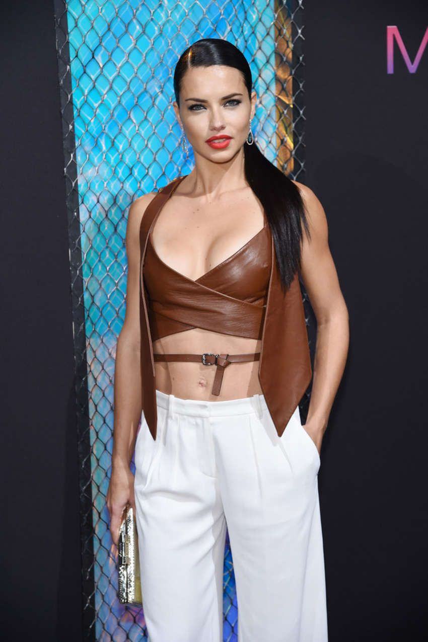 Adriana Lima - Maybelline New York NYFW Kick-Off Party