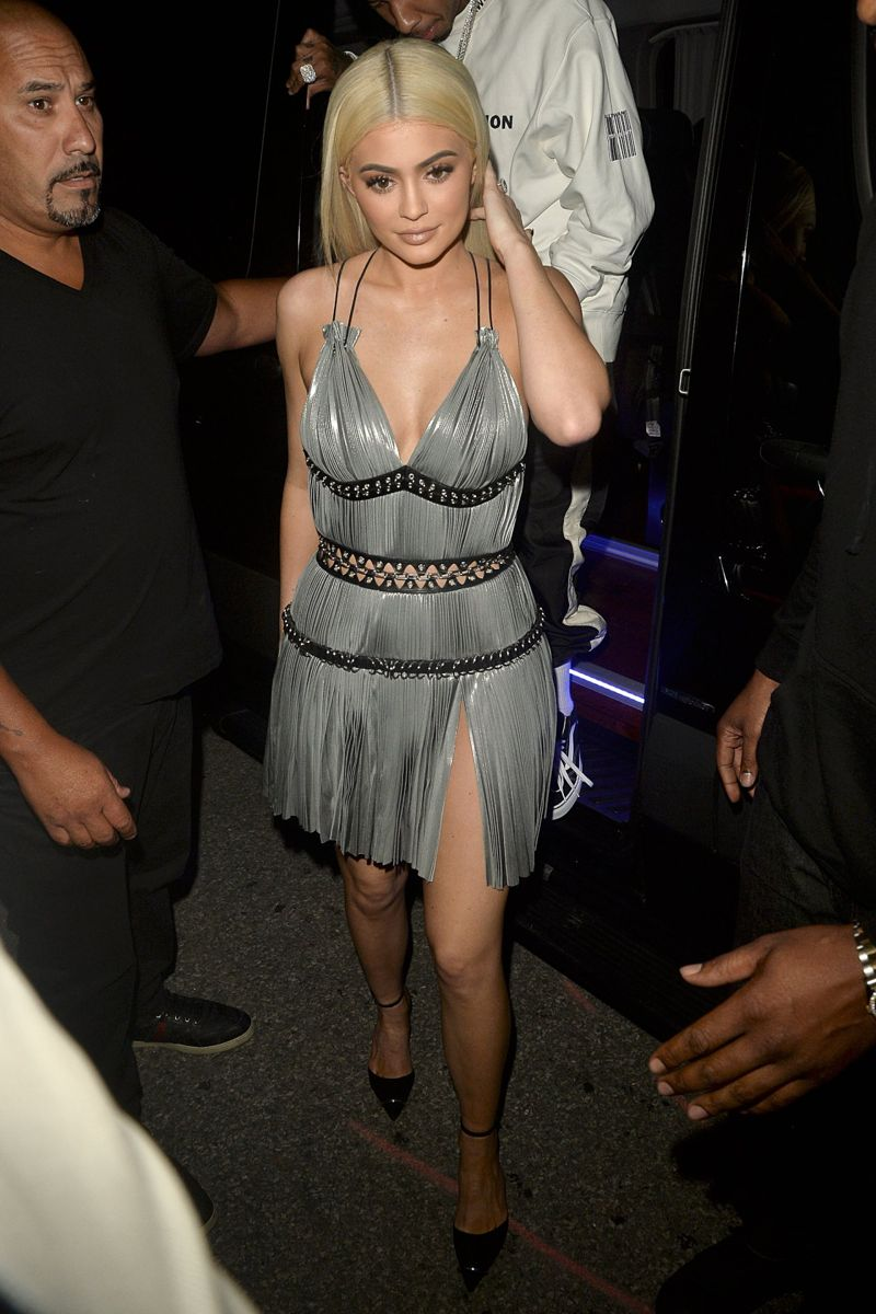 Kylie Jenner Alexander Wang Fashion Show in New York