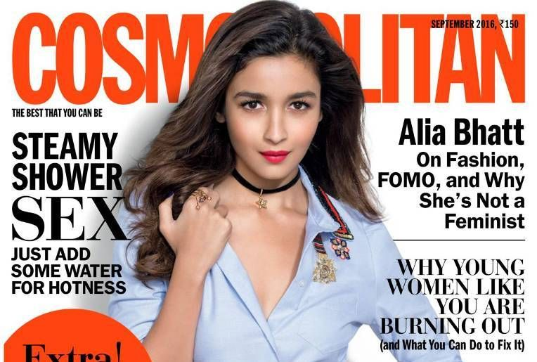 Alia Bhatt is Cosmopolitan's September 2016 cover girl