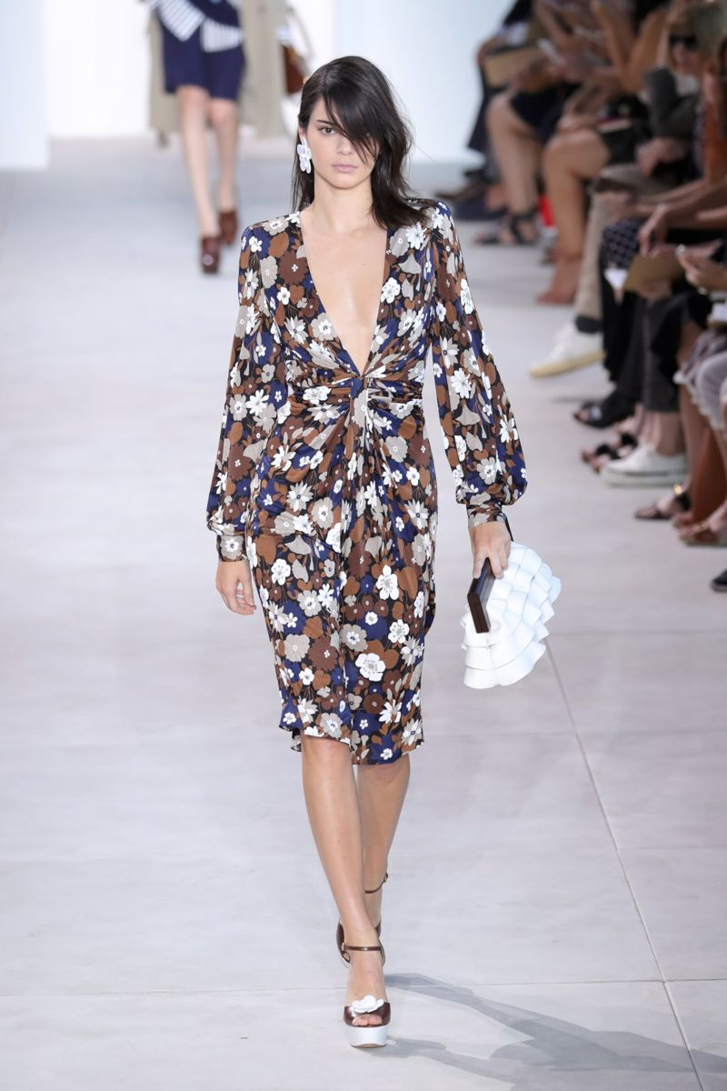 Kendall Jenner Michael Kors Spring 2017 Fashion Show