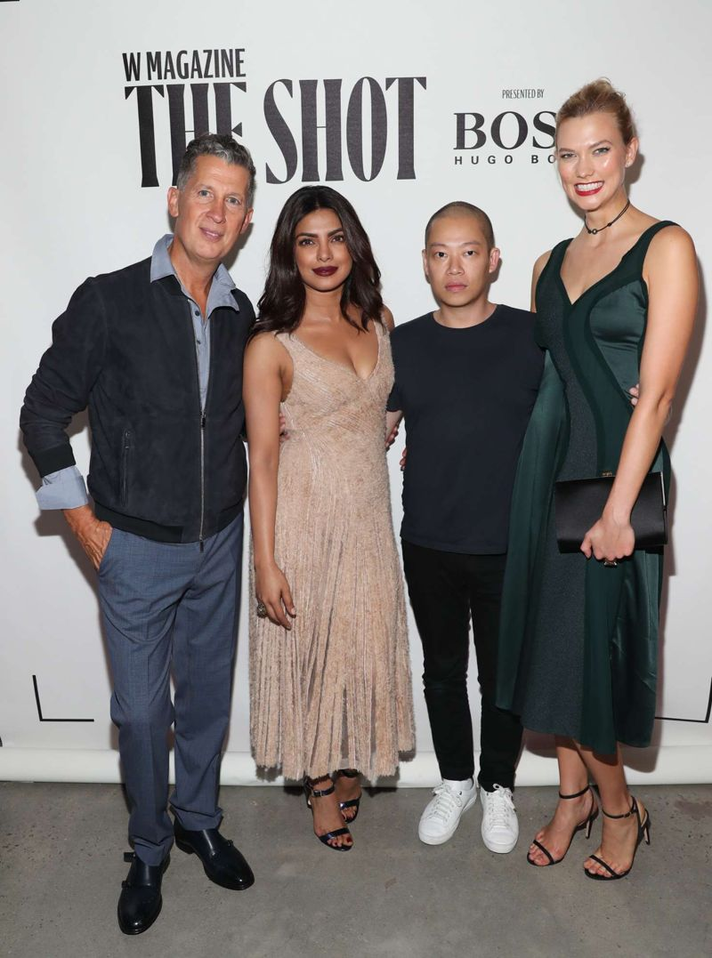 Priyanka Chopra W Magazine And Hugo Boss Celebrate The Shot
