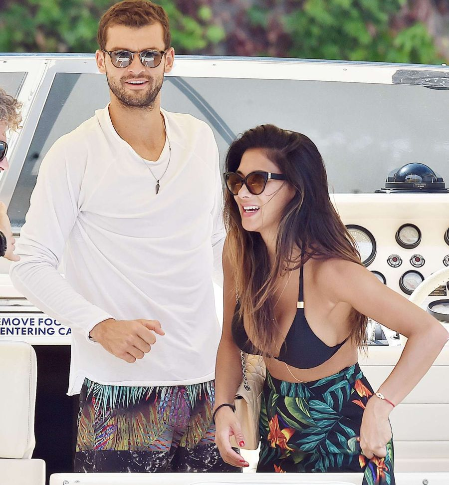 Bikini-clad Nicole Scherzinger packs on the PDA