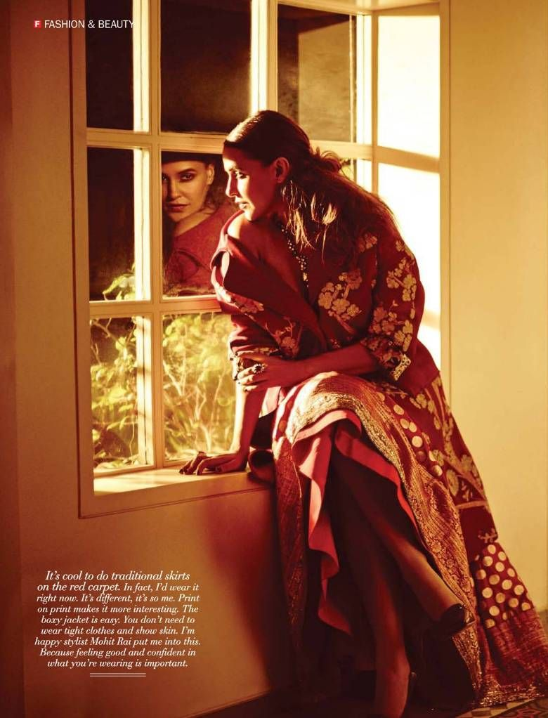 Neha Dhupia - FilmFare Magazine October 2016