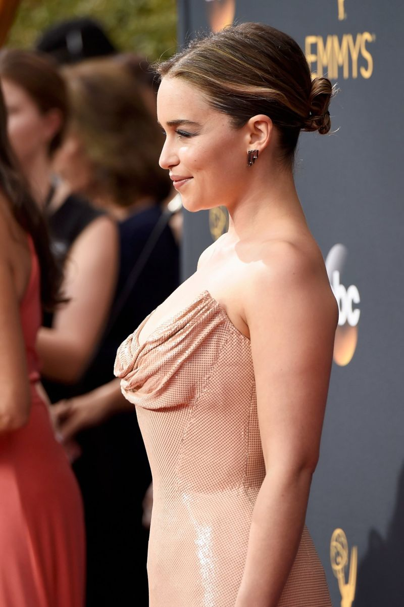 Emilia Clarke 68th Annual Primetime Emmy Awards